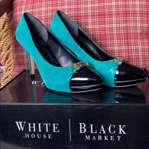 White House Black Market Samantha Two Toned Pumps